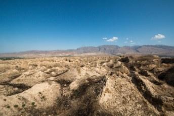 Net buiten Panjakent zijn de ruïnes van Oud Panjakent onze reden om hier naar toe te rijden.