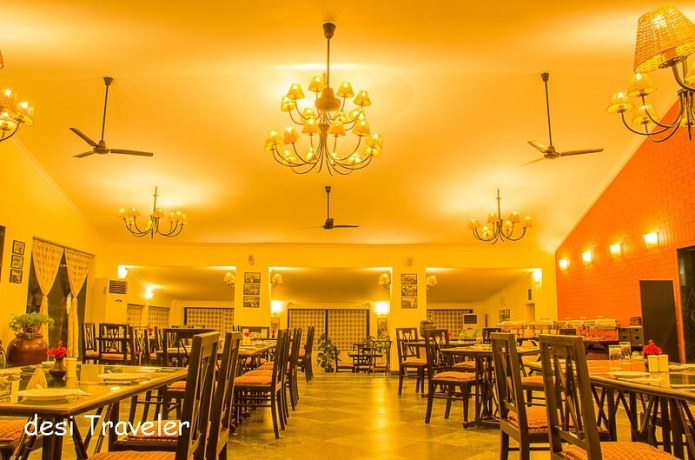 Chandelier Dining Hall Pushkar Resorts Rajashtan