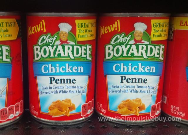 Chef Boyardee Chicken Penne