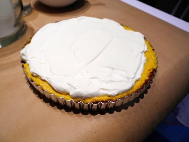 Creamy Pumpkin Tart