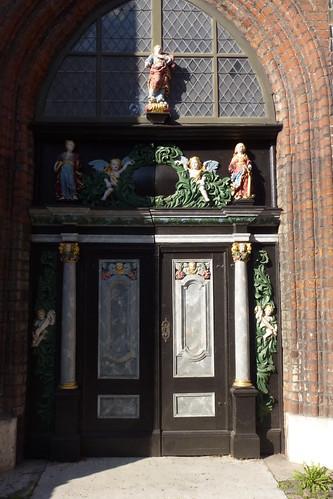 Dør i St. Jakobikirche Stralsund