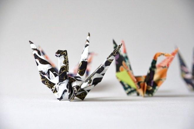 Origami Kranich (8)