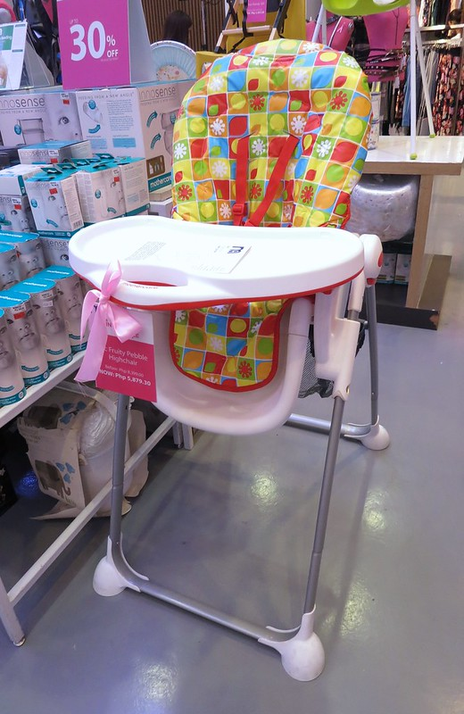 fruity pebble high chair
