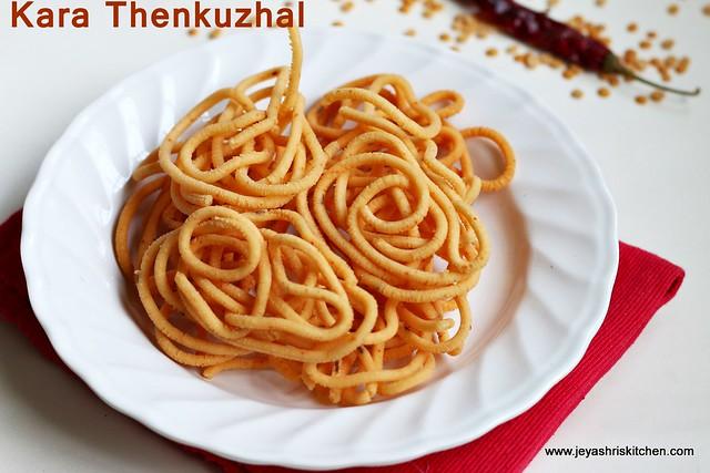 Thenkuzhal-murukku