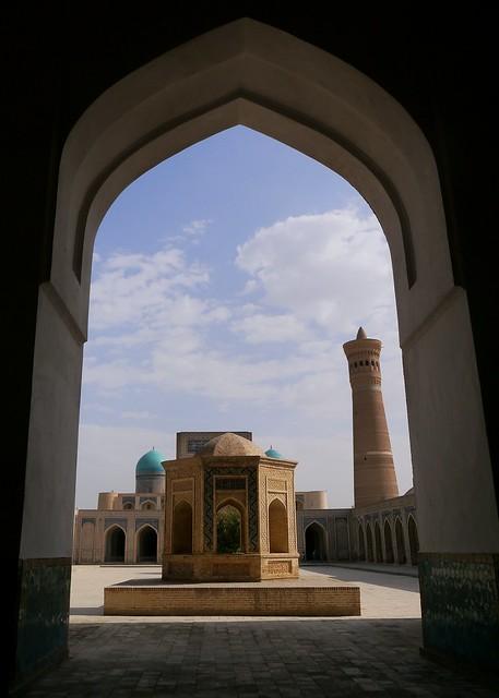 6) Through the Arch