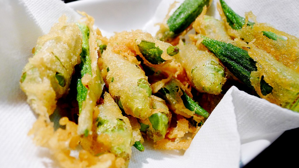 Samuel Adams Beer Boston Lager Okra Tempura Recipe Instanomss nomss