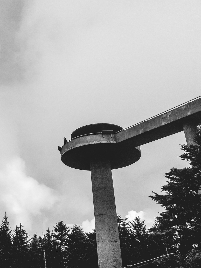 great smoky mountains / clingmans dome