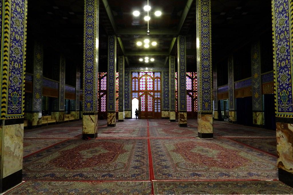 Iran Yazd Mezquita Hzyrh - Santuario de Mohammabi  11