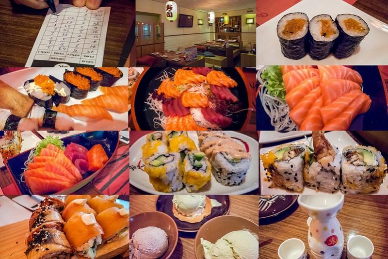 Sushi im Tokyo Café