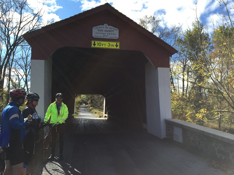Van Sandt Covered Bridge