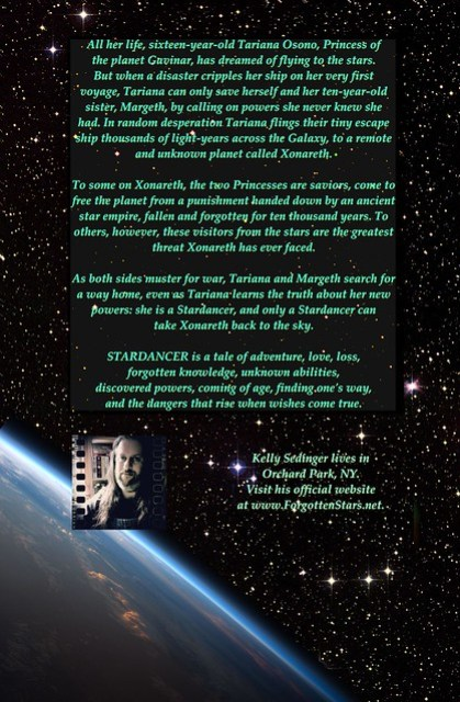 STARDANCER back cover