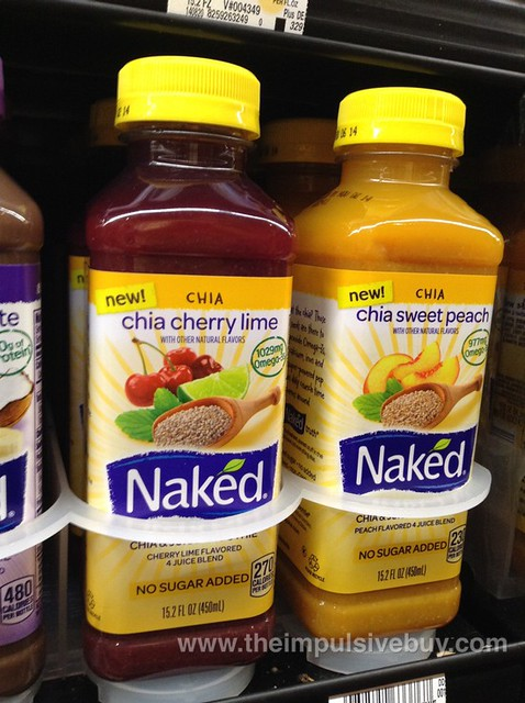Naked Chia Cherry Lime and Chia Sweet Peach