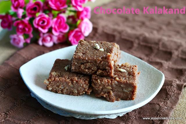 Chocolate -kalakand-recipe