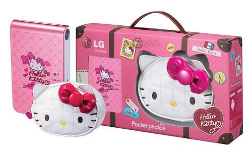 LG Pocket Photo Hello Kitty