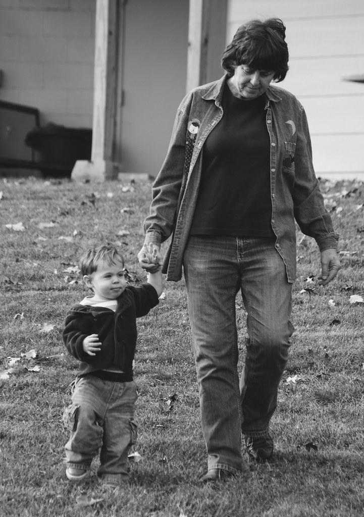 Micah and Grandma