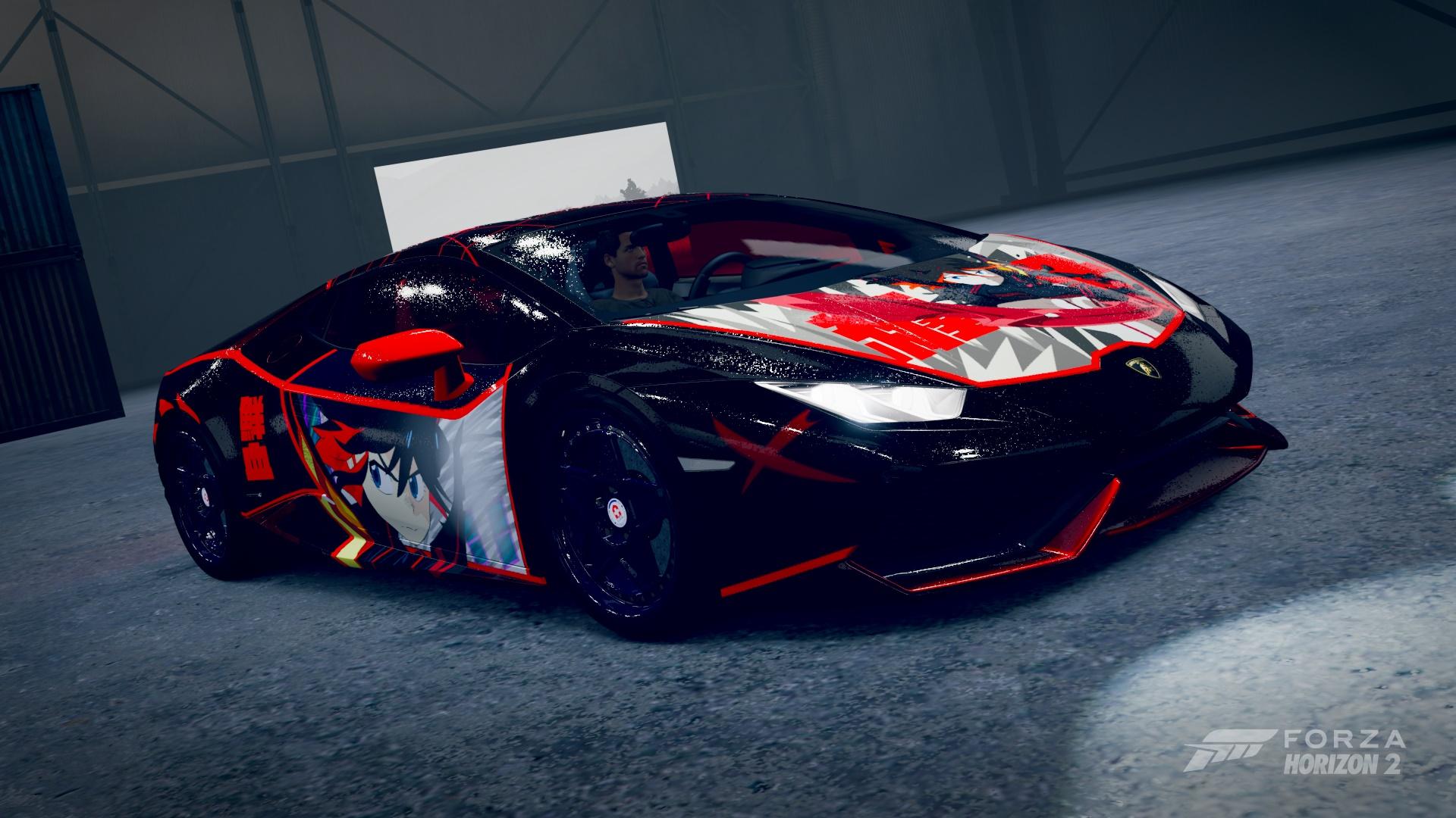 Ryuko Matoi Kill La Kill Lamborghini Huracan Fantasy