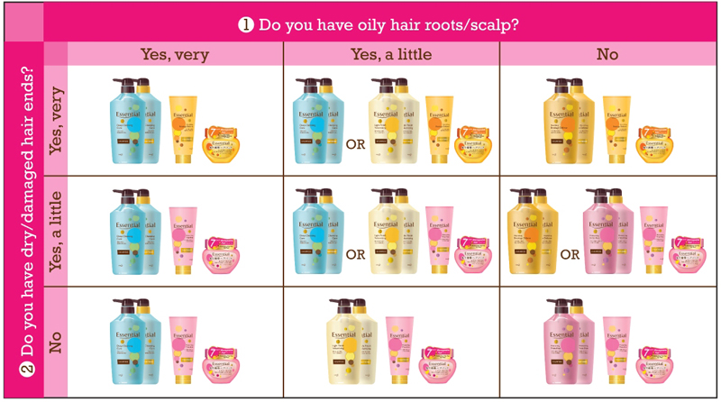 GEss_Matrix Chart_Hair Care