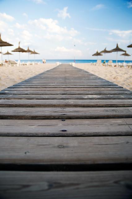 Holiday! Beach shot in Tunisia