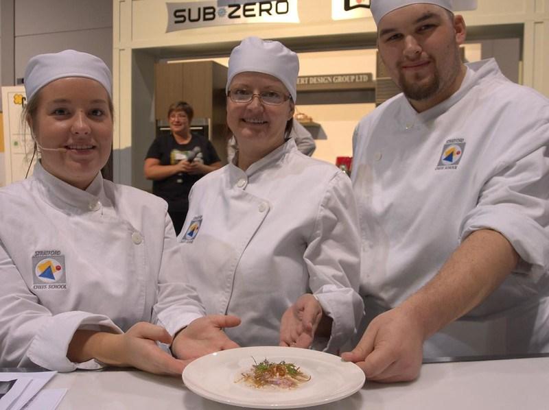 Stratford Chefs School team present Malaysian Lobster Coconut Curry