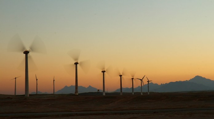 desert sunset power