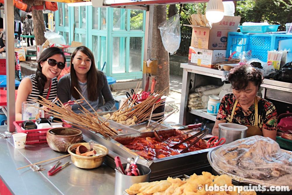 26 Sep 2014: Pojang Macha 포장마차 at Seomyeon Shopping District | Busan, South Korea