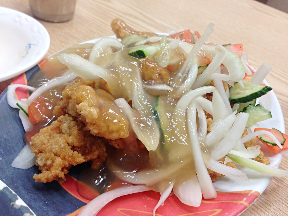 26 Sep 2014: Sweet & Sour Pork lunch at Seomyeon Shopping District   Busan, South Korea