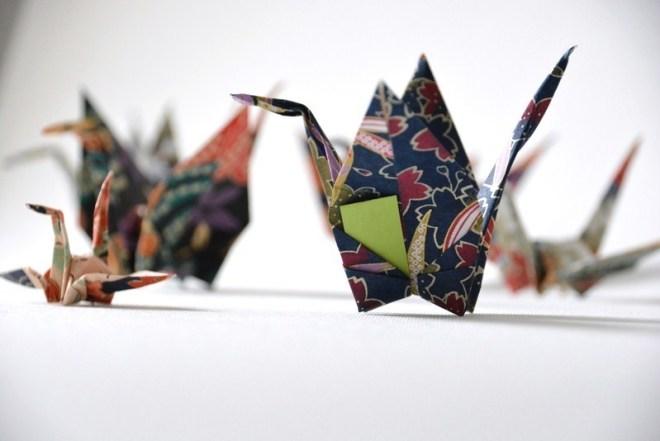 Origami Kranich (4)