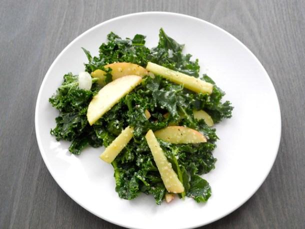 Apple and Parmesan Fall Salad