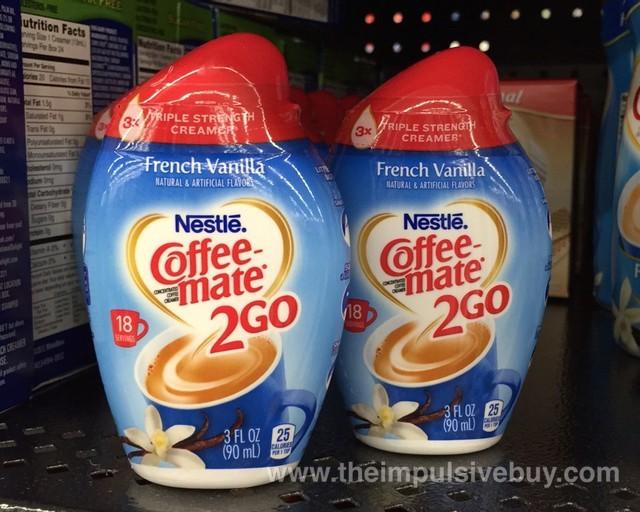 Nestle French Vanilla Coffee-mate 2 Go