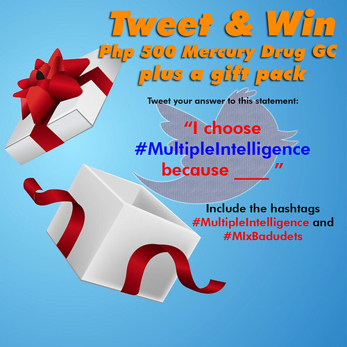 tweet and win multiple intelligence