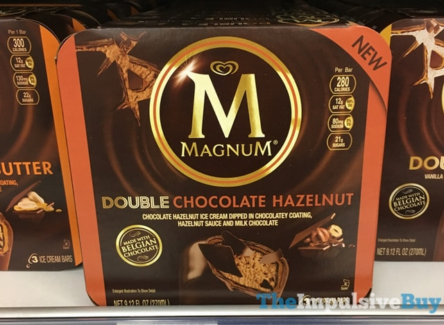 Magnum Double Chocolate Hazelnut Ice Cream Bars