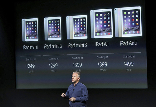 Phil Schiller Apple presenta sus próximos iPad Air 2 y iPad mini 3