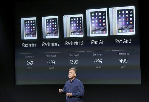 Phil Schiller Apple presenta sus próximos iPad Air 2 y iPad mini 3