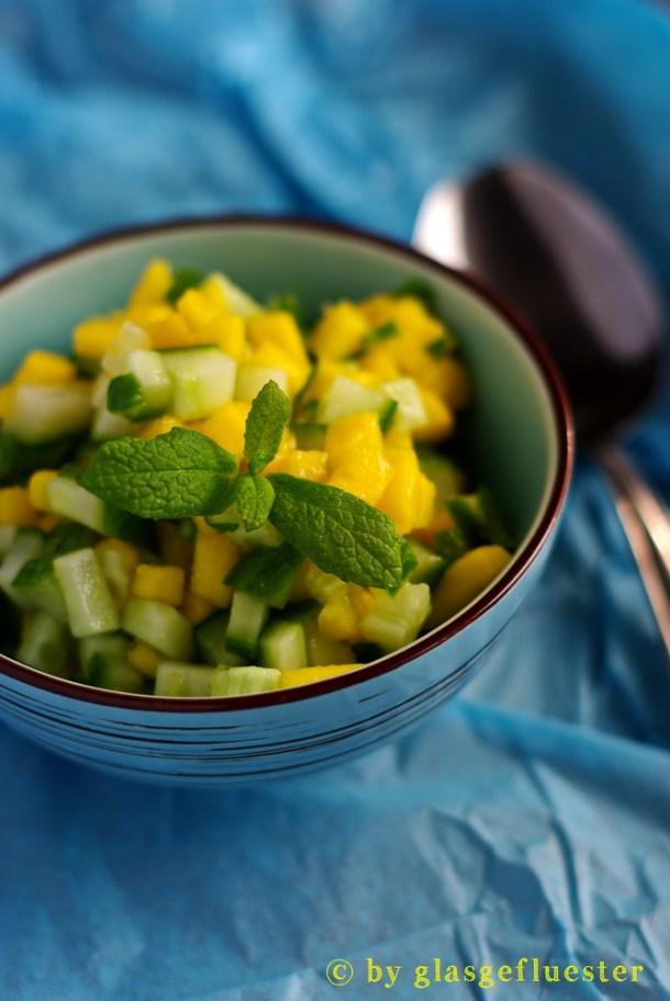 Gurken Mango Salsa by Glasgeflüster 3 klein