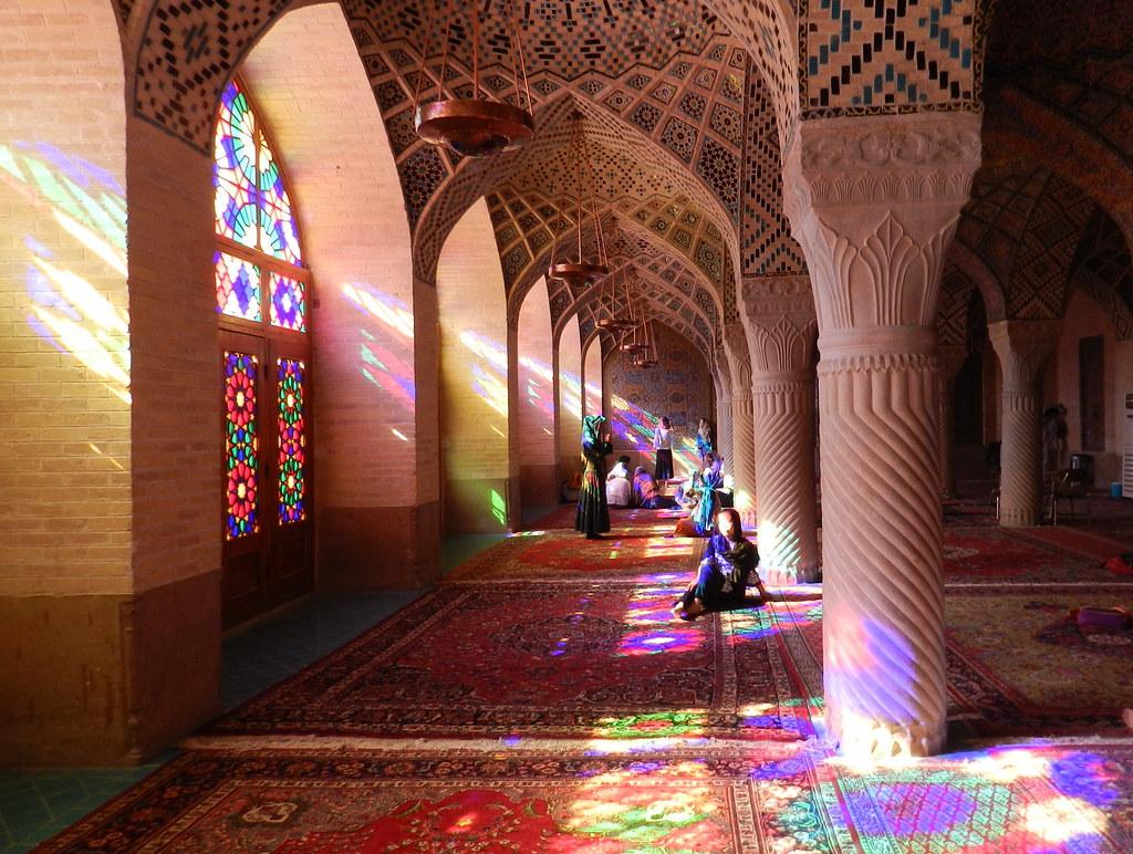 Mezquita Nasir-Ol-Mol Shiraz Irán 03