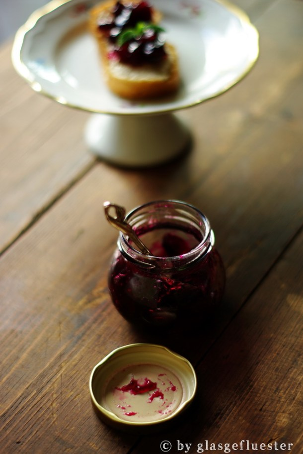 Trauben Minz Cranberry Marmelade by Glasgeflüster 3 klein