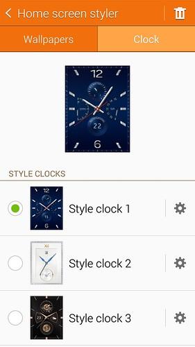 มีรูปแบบนาฬิกามากมายให้เลือกอยู่