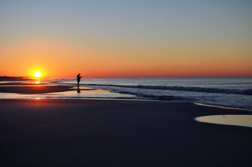 Sunrise - On Beach in Front of Westwinds at Sandestin Golf and Beach Resort, Florida, Oct. 25, 2014