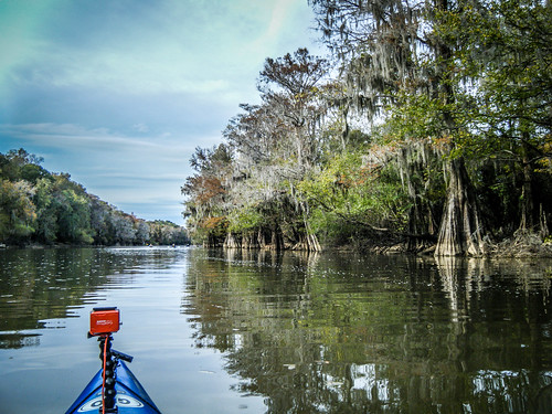 Savannah River from Stokes Bluff with LCU Nov 7, 2014, 4-18 PM Nov 8, 2014, 2-44 PM