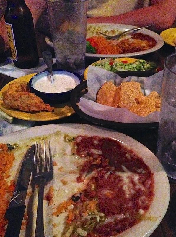 The spread at E Bar