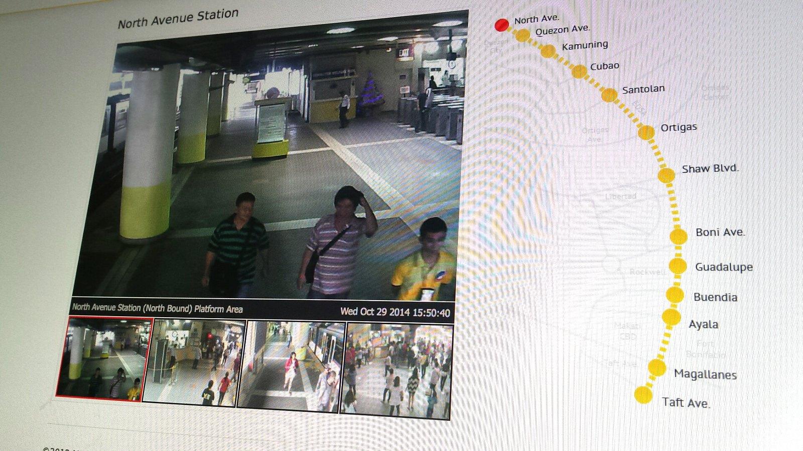 MRT3 Live CCTV