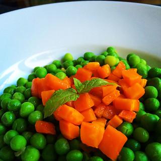Guisantes koketo Tiempos de cocción de verduras