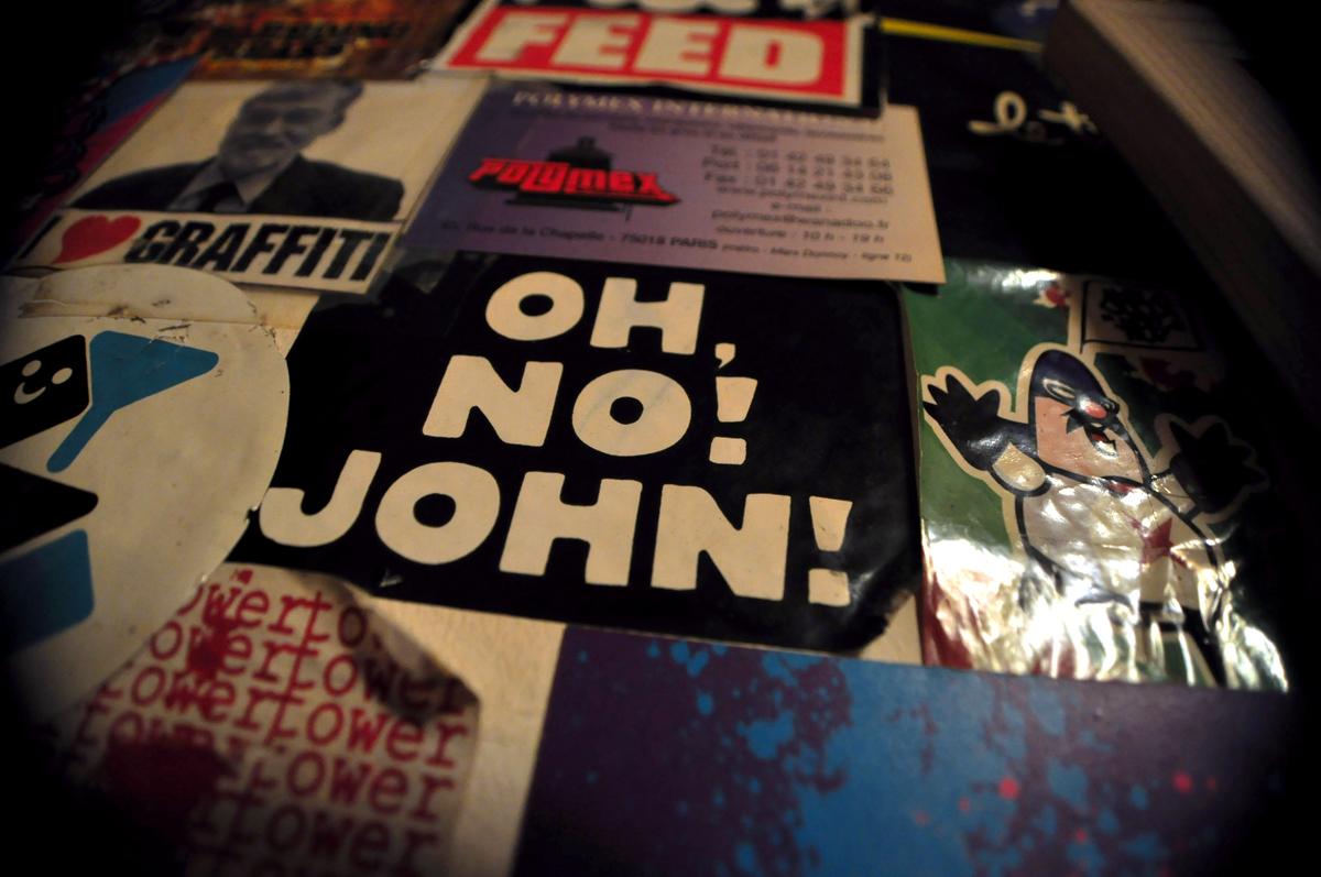 OH, NO! JOHN!
