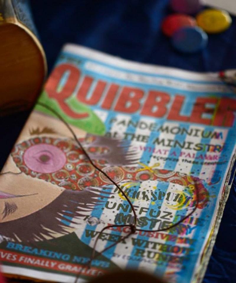 Quibbler at this Scottish Harry Potter wedding on @offbeatbride