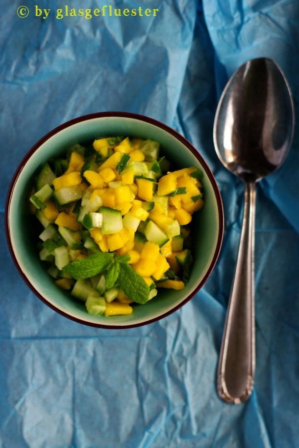 Gurken Mango Salsa by Glasgeflüster 2 klein