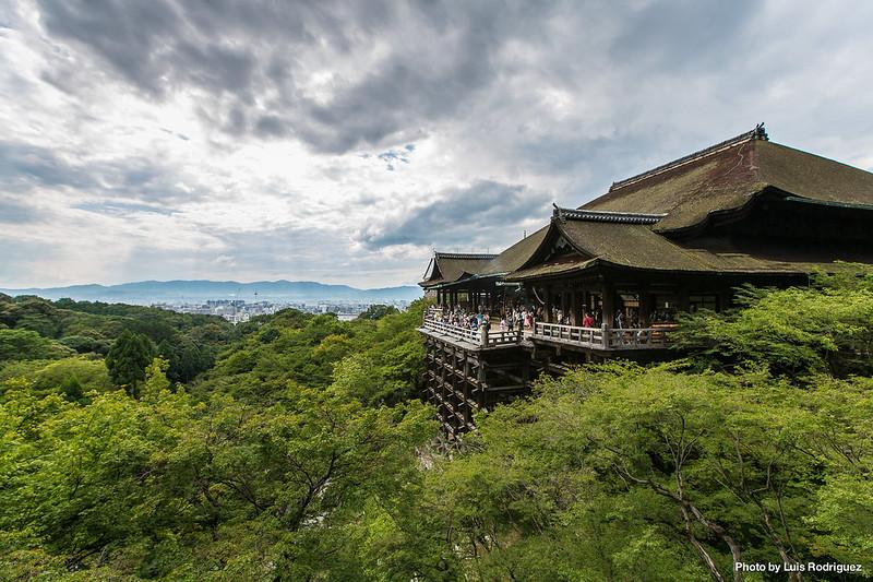 Kiyomizudera en Kioto, en nuestros itinerarios básicos por Japón