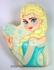 Elsa CAKE TOPPER