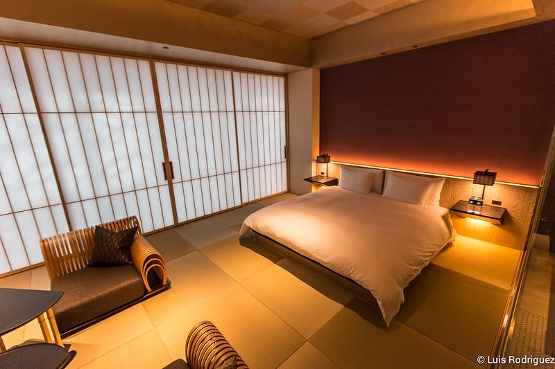 Habitación en Hoshinoya Tokyo
