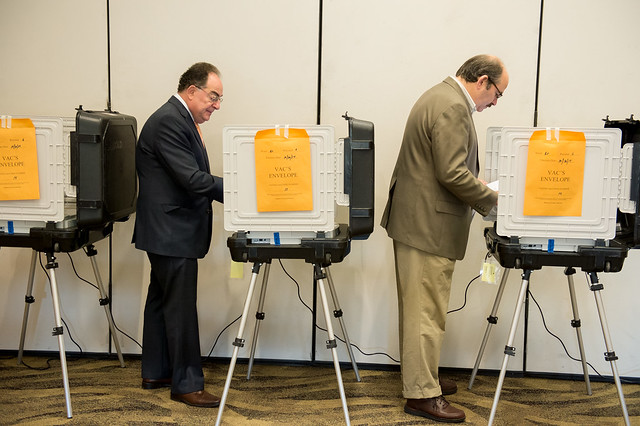 Governor Votes Early