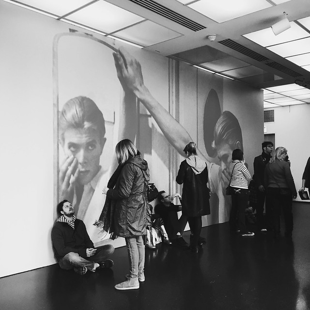 David Bowie Is: waiting in line